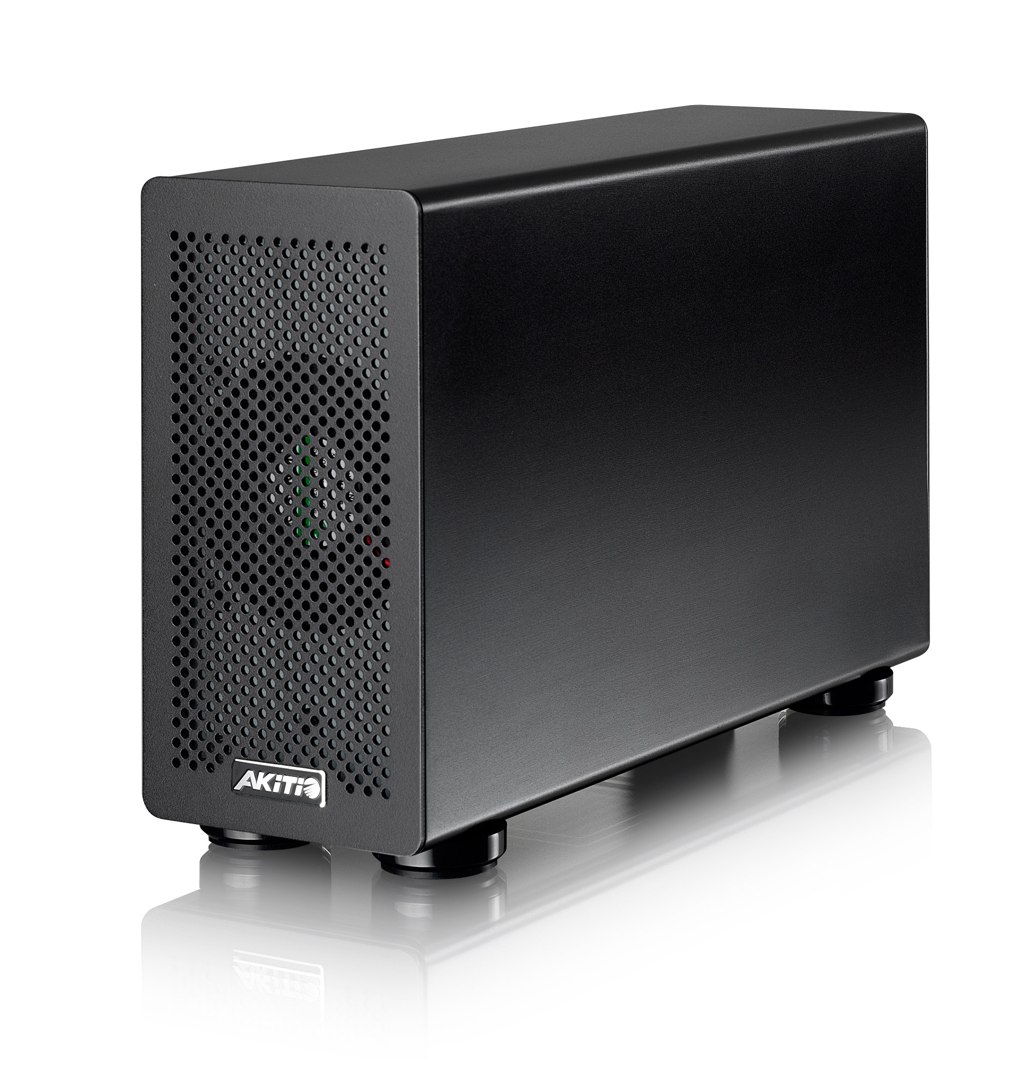 akitio thunder2 pcie box angle highres